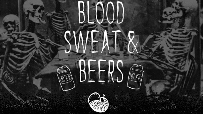 Blood Sweat and Beers - Free Font