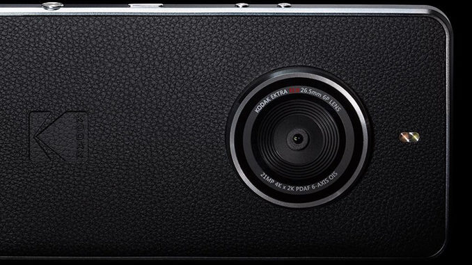 The New Kodak Ektra Smartphone Really Wants To Be A Camera