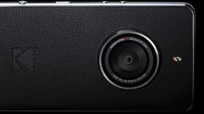 The New Kodak Ektra Smartphone Really Wants To Be A Camera